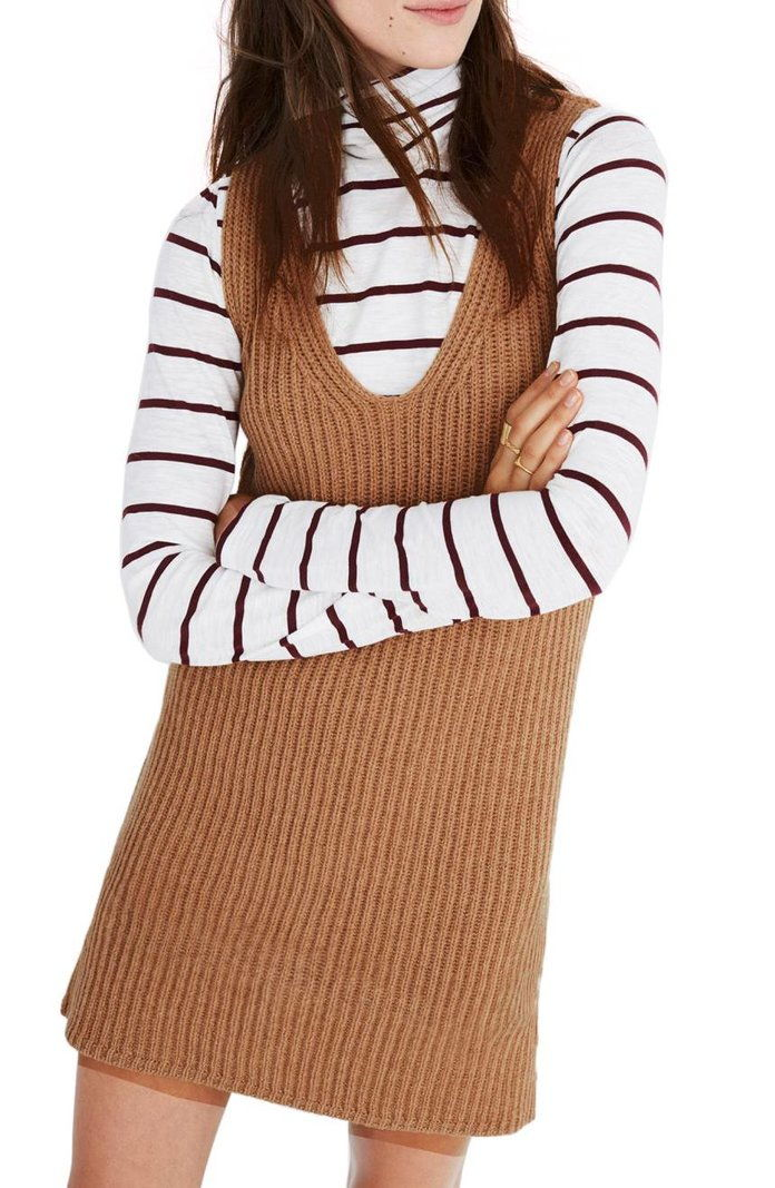 Madewell Tunic Sweater Dress