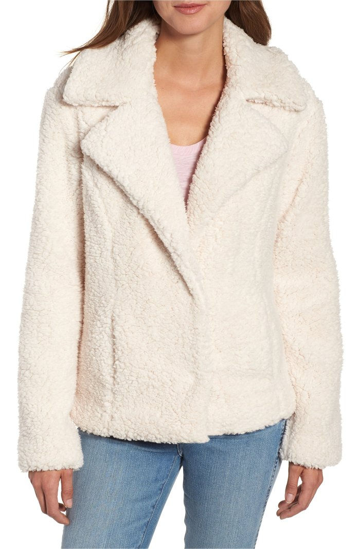 فو Shearling Jacket