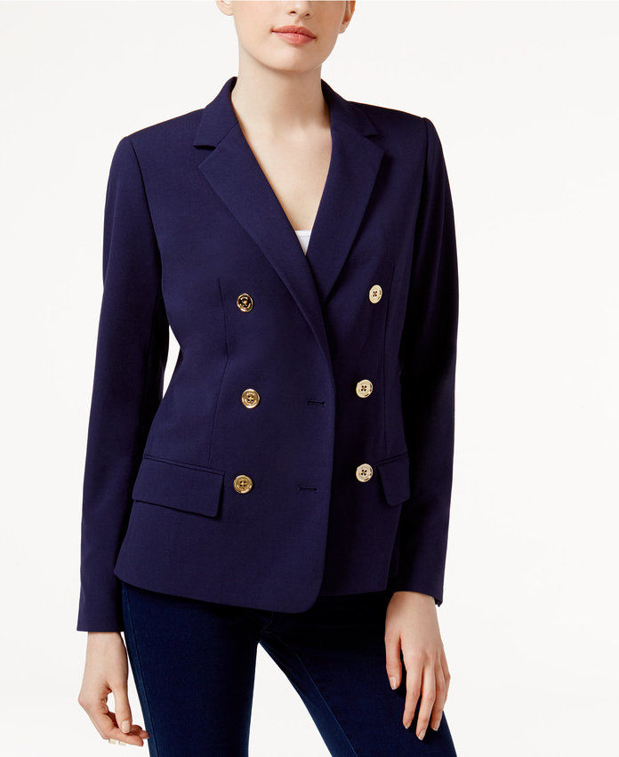 ميخائيل Michael Kors Double-Breasted Blazer