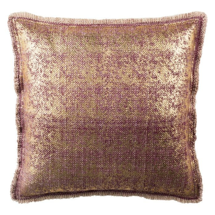 Сафавиех Metallic Sponge Square Decorative Pillow