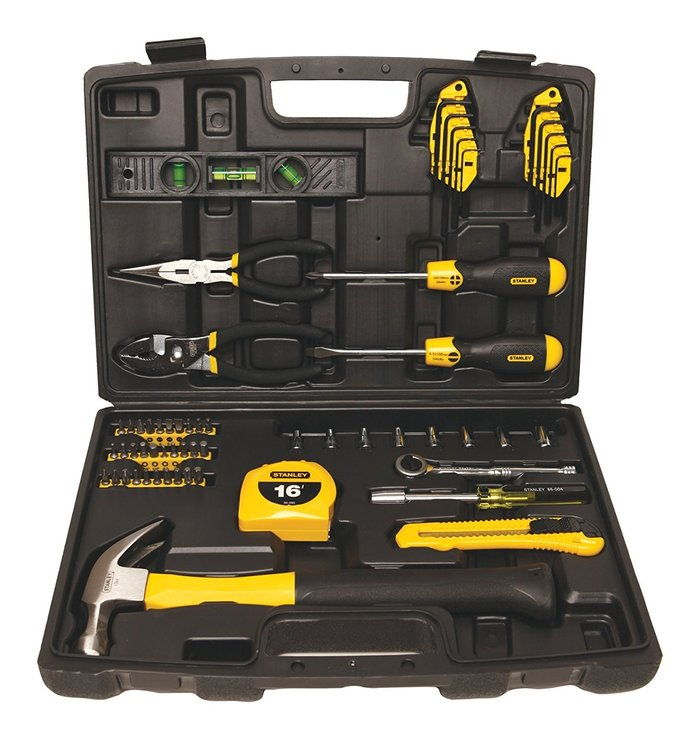 ستانلي 94-248 65-Piece Homeowner's Tool Kit