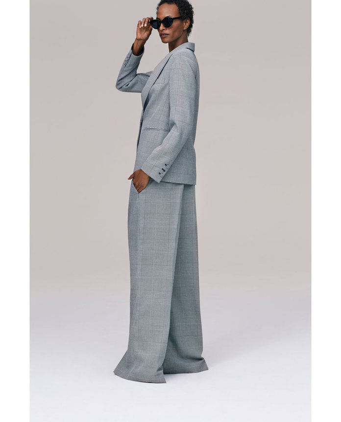 زارا Wide-Leg Trousers
