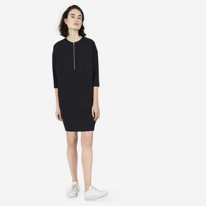 Тхе Japanese GoWeave Zip-Front Dress