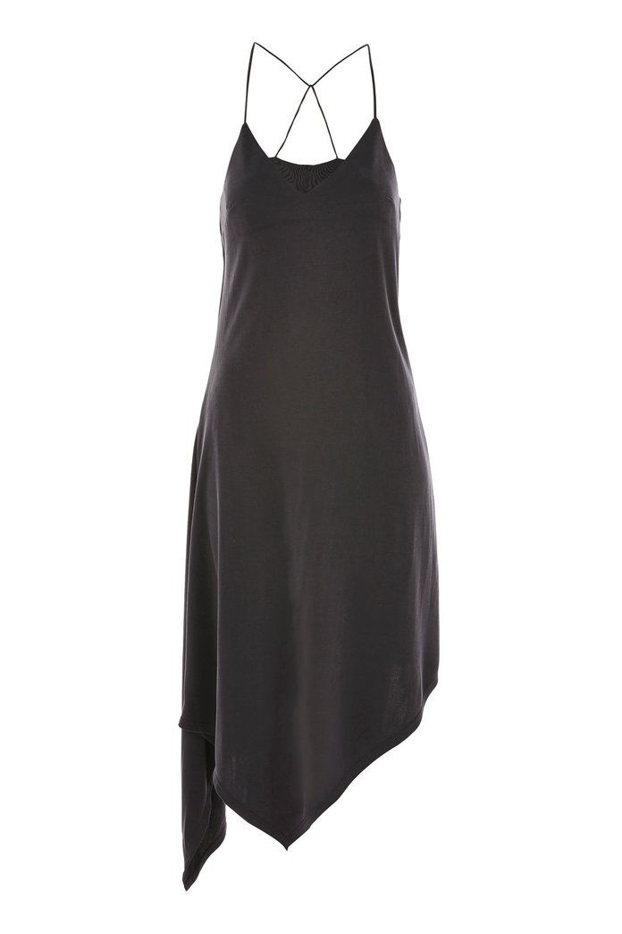 توب شوب Asymmetric Hem Slip Dress