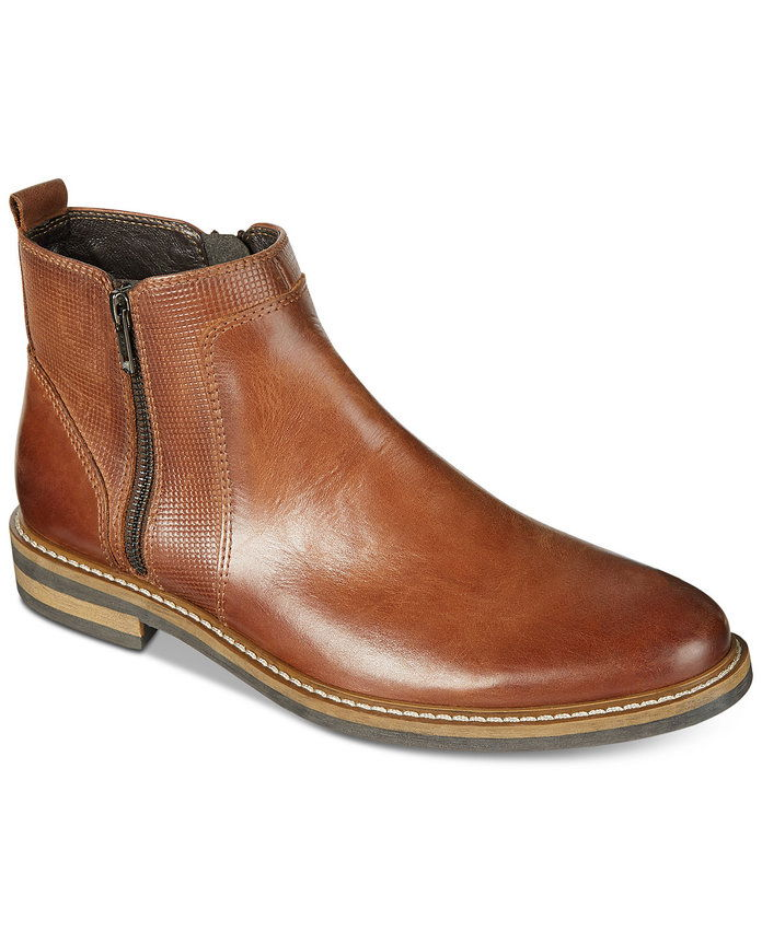 Алфани Men's Jayce Textured Chelsea Boots