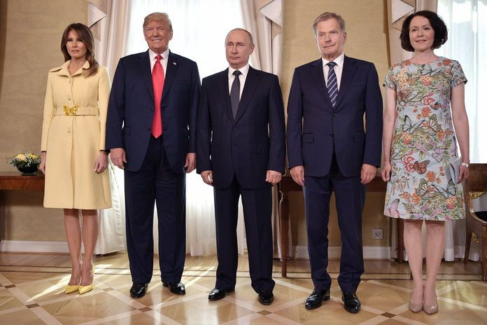 Председници of Russia and the USA meet in Helsinki