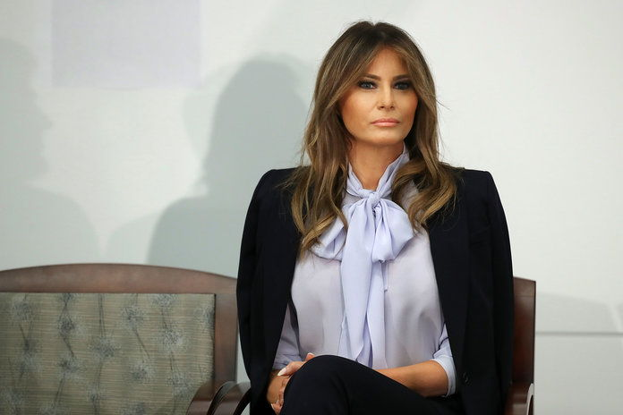 Први Lady Melania Trump Attends Cyberbullying Prevention Summit In Rockville, Maryland