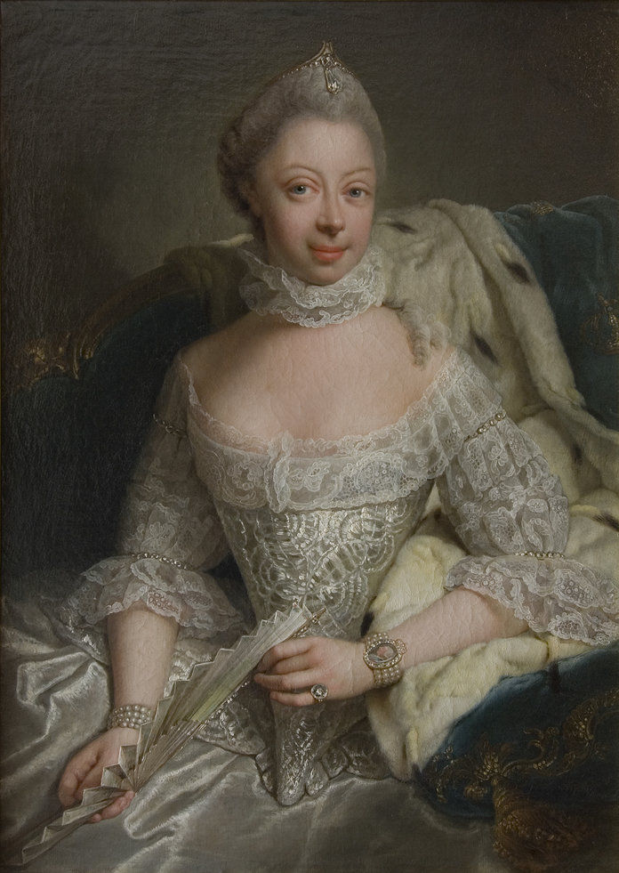 صورة Of Princess Charlotte Of Mecklenburg-Strelitz (1744-1818)
