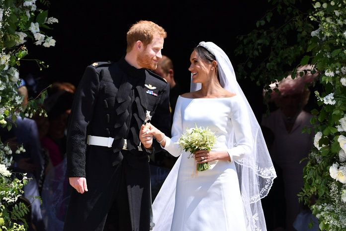 Принце Harry Marries Ms. Meghan Markle - Windsor Castle