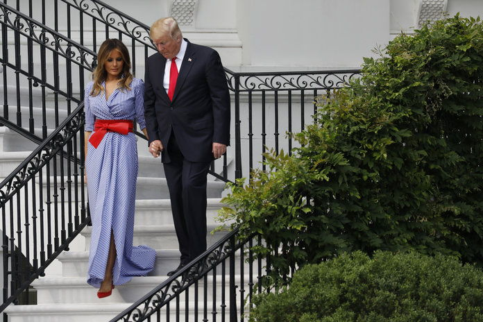 председник Trump And First Lady Melania Host Picnic For Military Families