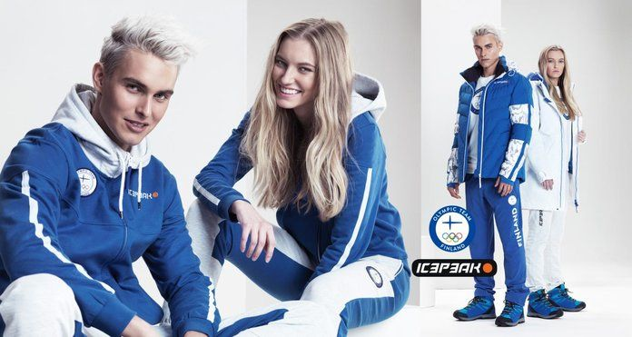 شتاء 2018 Olympic Uniforms Finland IcePeak