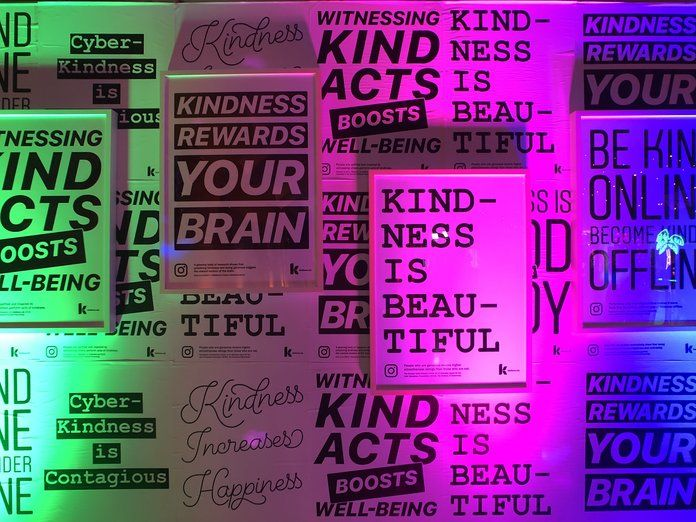لطف Wall from Instagram Kindness Prom