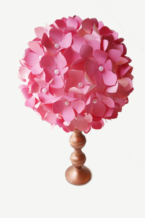 Папир Flower DIY Centerpiece Full Bouquet Embed