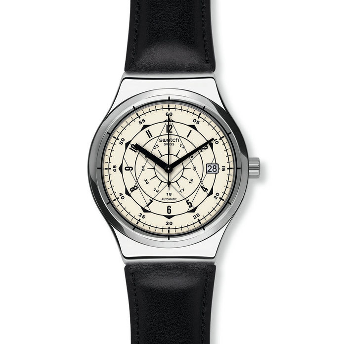 ЦРН LEATHER AND CREAM DIAL